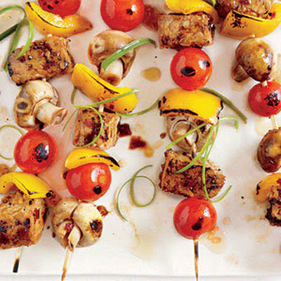 Grilled Tempeh Skewers