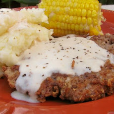 Quick Chicken-Fried Steak With Pan Gravy