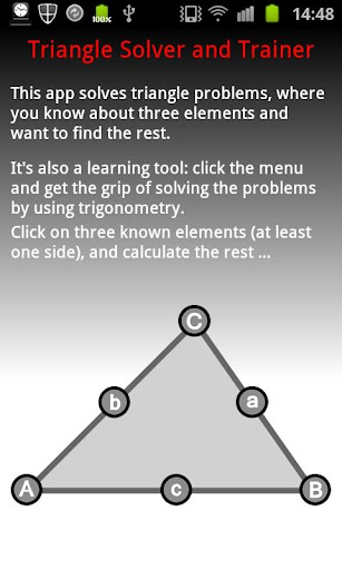 Triangle Solver and Coach