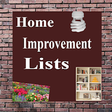 Home Improvement Lists