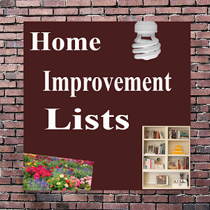 Home Improvement Lists Android Apps On Google Play
