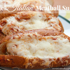 Quick Italian Meatball Subs
