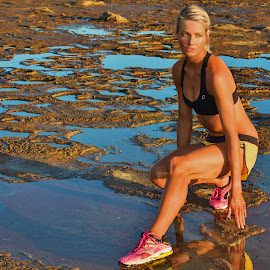 Regroup by Helena Lindgren - Sports & Fitness Fitness ( fitness beach sunrise work hard helenalindas )
