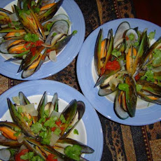 Mussels Cooked in Lager