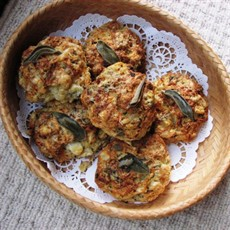 Roquefort and Potato Scones with Sage