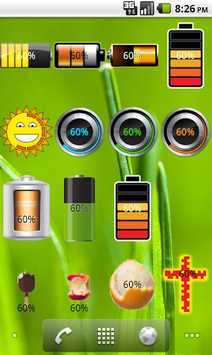 Ambrosia Battery Widget full
