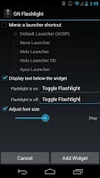 Screenshot of Nexus Flashlight