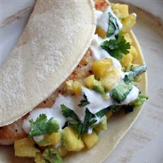 Soft Mahi Mahi Tacos with Ginger-Lime Dressing
