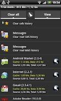 Screenshot of Quick App Manager