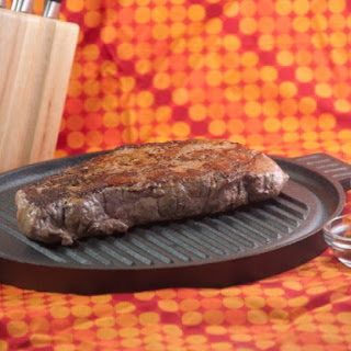 Pan-Seared Top Sirloin Steaks