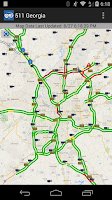 Screenshot of 511 Georgia & Atlanta Traffic