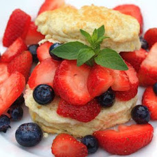 Lemon Buttermilk Shortcakes with Berries