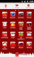 Screenshot of GO Launcher EX Theme Christmas