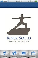 Screenshot of Rock Solid Wellness Studio