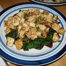 Tibetan Greens With Tofu (Tse Tofu)