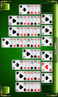 Screenshot of Solitaire 4 in 1