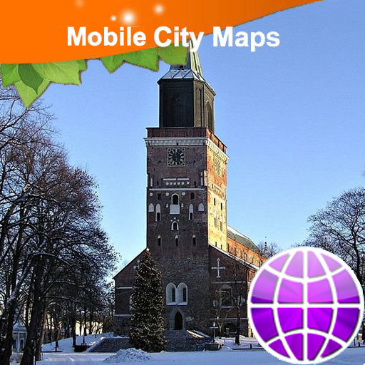 Turku Street Map LOGO-APP點子