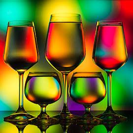 Midnight Sonatta by Rakesh Syal - Artistic Objects Glass