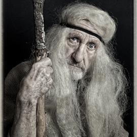 For I Know Your Sins by Derek Galon - People Portraits of Men ( old, male, rags, portrait, man )