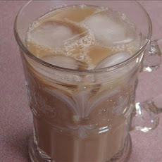 Iced Nutty Butterscotch Coffee