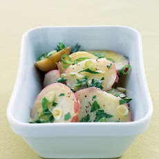 Hot Potato Salad with Scallion Vinaigrette