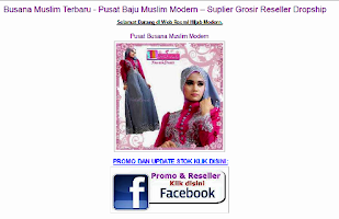 Screenshot of Hijab Modern