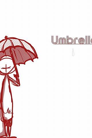 絵本 umbrella
