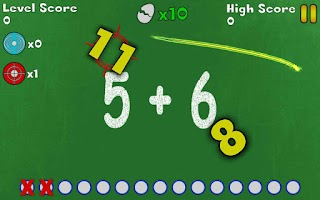 Screenshot of Math Slicer Free