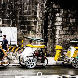 Within the Walls by Krizzel Almazora - City,  Street & Park  Street Scenes ( street, pinoy, intramuros, manila, philippines )