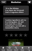 Screenshot of iBartender Drink Recipes Free