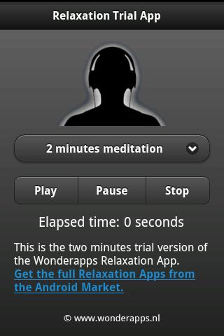Relaxation Trial App