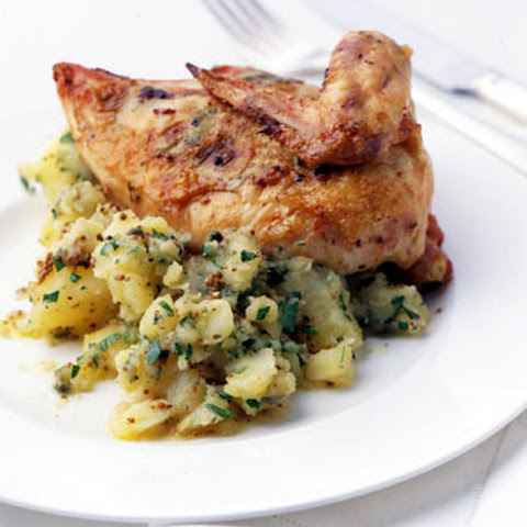 Roast Chicken with Lemon and Tarragon Butter