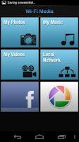 Screenshot of Wi-Fi Media - Media on TV