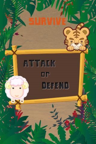 Survive: Attack or Defend