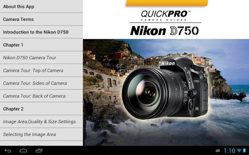 Nikon D750 by QuickPro - screenshot