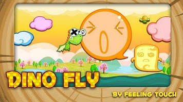 Screenshot of Dino Fly FREE