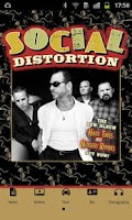 Screenshot of Social Distortion