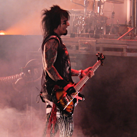 Nikki Sixx by Deborah Russenberger - People Musicians & Entertainers ( music, rock )
