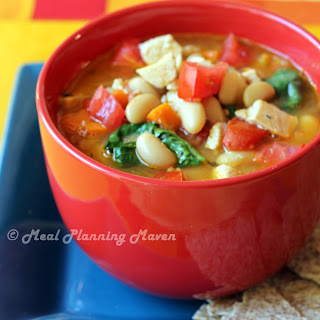 Chicken, Spinach and White Bean Stew