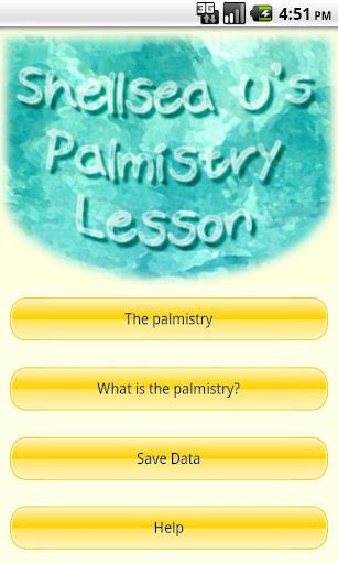 Shellsea U's Palmistry Lesson