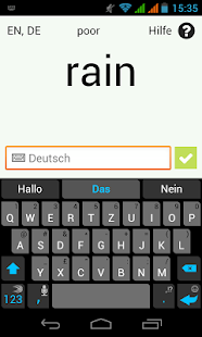 Learn Words with your Voice - screenshot