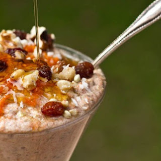 Carrot Cake Raw Buckwheat Porridge (Gluten-free & Raw)
