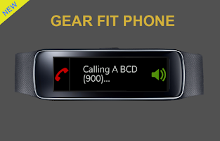 Screenshot of Gear Fit Phone
