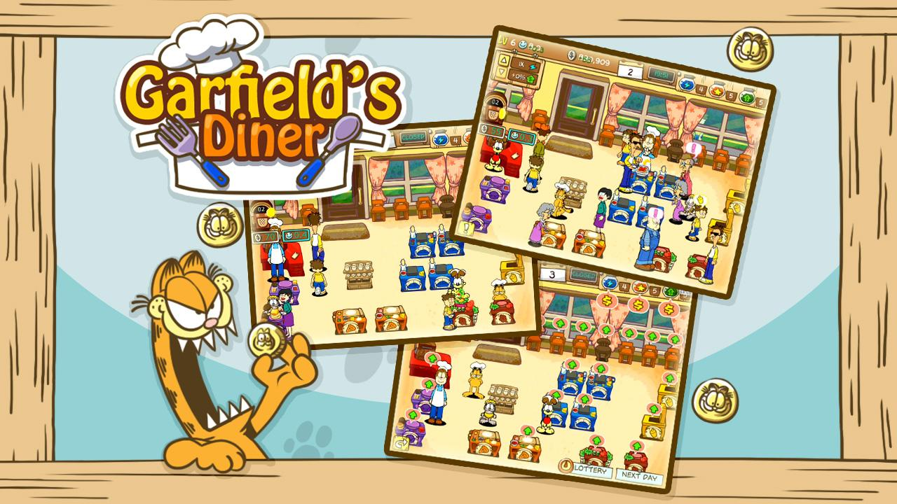 Garfield's Diner Screenshot 1