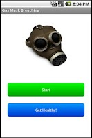 Screenshot of Gas Mask Breathing