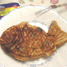Fish Shaped Pancake (Taiyaki)