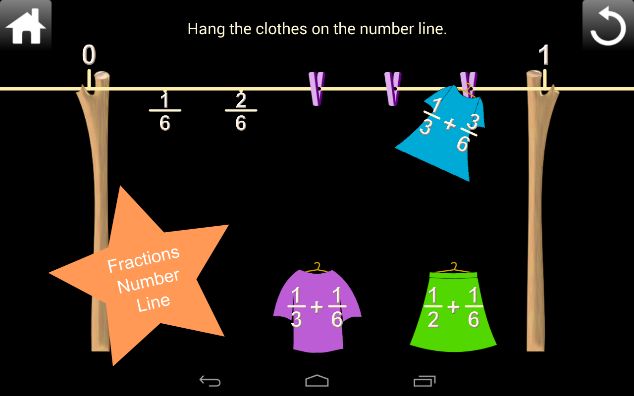 Fractions Screenshot 5