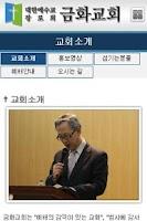 Screenshot of 금화교회
