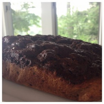 Chocolate Swirl Banana and Date Bread