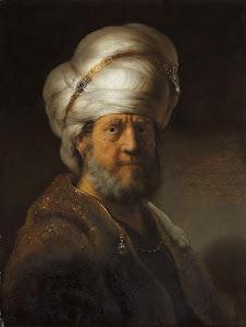 RIJKS: Rembrandt Harmensz. van Rijn: Man in Oriental Dress 1635